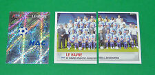 PANINI FOOTBALL FOOT 2007 LE HAVRE AC HAC DESCHASEAUX COMPLET FRANCE 2006-2007