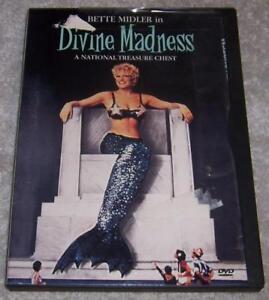 Divine Madness DVD Bette Midler