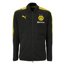 Puma BVB Borussia Dortmund Polyesterjacke Gr.176 - 751844-02 schwarz UVP 54,95€