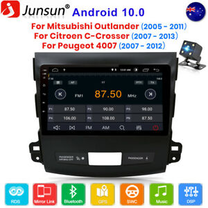 For Mitsubishi Outlander xl 2 Peugeot 4007 Car Stereo Radio 9''Android10 GPS RDS