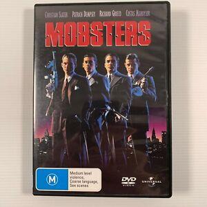 Mobsters (DVD 2007) 1991 film Patrick Dempsey, F. Murray Abraham Region 2,4,5