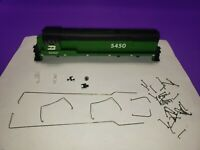 NEW CASING RAILINGS BURLINGTON NORTHERN HO SCALE ATHEARN GE U28B LOCOMOTIVE KIT