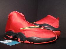 Nike Air ZOOM FLIGHT THE GLOVE GARY PAYTON MIAMI HEAT RED BLACK GREY YELLOW 8.5