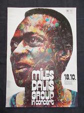 +++ 1971 MILES DAVIS Germany Concert Poster by Kieser ORIGINAL