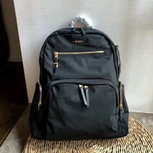 """BRAND NEW TUMI CALAIS VOYAGEUR BACKPACK SIZE 17""""X12.25""""X5.5"""" BLACK FREE SHIPPING"""