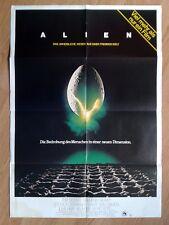 Alien - Ridley Scott - vintage German 1-sheet poster 1979 - Sigourney Weaver