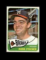1965 Topps Baseball #585 Hank Fischer (Braves) NM