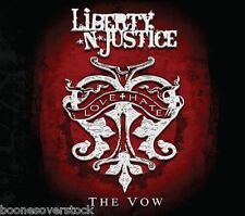 LIBERTY 'N JUSTICE - THE VOW (*NEW-CD, 2015, Retroactive) Nelson, Baton Rouge+