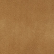 C859 Camel Brown Solid Auto Residential Commercial Upholstery Velvet By The Yard