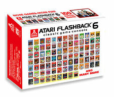 Atari Flashback 6 Console with 100 Built-in Games AUS NEW + Warranty!!!