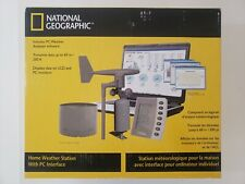 NEW National Geographic Home Weather Station with Wind Speed with PC Interface