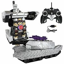MZ Transformers 2327PF Shockwave 8+ IR RC Car Robot Tank Bumblebee Optimus Prime
