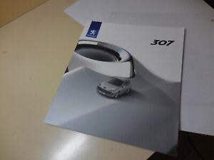 Peugeot 307 Japanese Brochure 2005/10? T5NFU T5RFJ T5RFK