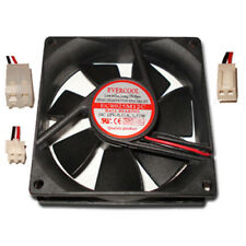 Evercool 80mm x 25mm Power Supply Replacement Fan Choose from 3 connectors!