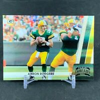 2011 Panini Threads Aaron Rodgers Numbered 167/250 #53 NFL Green Bay Packers