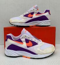 Vintage Nike Air Icarus Extra White/Radiant Orange/Purple DS Size 8.5 104012-180