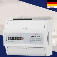 Digitaler Drehstromzähler Stromzähler S0 DIN Hutschiene 400V 20(80)A Weiß DE