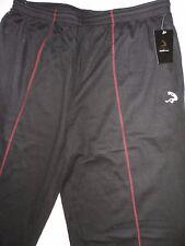 New SHAQ Mens Athletic Pants Black/Red - Size: XL