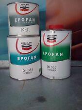 FONDO EPOFAN PRIMER GRIGIO LECHLER 04 384 + INDURITORE 00 451 + DILUENTE 00 535