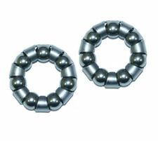 """Pair Front Bike/ Cycle Wheel Bearings POPULAR SIZED 3/6"""" x 7  Caged  FREE P&P"""