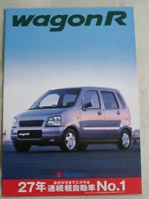 Suzuki Wagon R brochure c1999 Japanese text