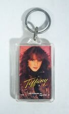 Tiffany Singer Vintage Original Photo Key Chain Fob 1988 Keychain Pop Star Rare