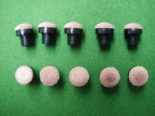 Lot de 10 procedes billard à vis plastique - 12mm