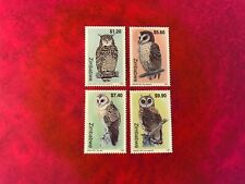 ZIMBABWE 1999 MNH BIRDS OF PREY OWLS CAPE EAGLE GRASS BARN MARSH