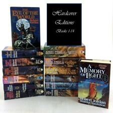 Robert Jordan WHEEL OF TIME Series PREMIUM HARDCOVER Collection Set Books 1-14