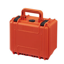Pequeño engranaje impermeable herramienta Protector Funda Rígida Caja max235h155 C / Espuma Orange