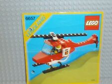 LEGO® Town Classic Bauanleitung 6657 Feuerwehr Heli gelocht instruction B97