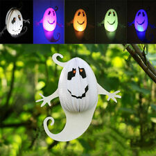 Halloween Hanging Lantern Ghost Shape Paper Lamp For Party Decoration