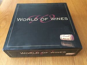 World of Wines - Board Game After Dinner Quiz  Dinner Party Opened Never Played