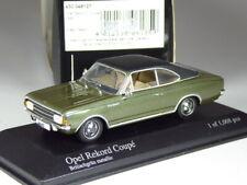 (KI-04-20) Minichamps Opel Rekord C Coupé grün metallic 1:43 in OVP