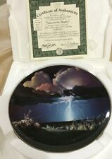 Appeal To The Thunder The Bradford Exchange 1994 collector plate#1728A