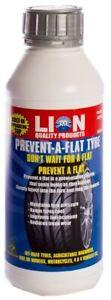 Lion Prevent-A-Flat Tyre Puncture Sealer 500ml DIY Home Workshop