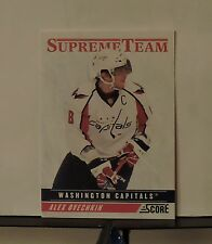 2011-12 Score Supreme Team #8 Alex Ovechkin
