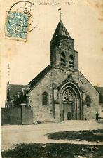 Carte ATHIES SOUS LAON L'église