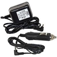 HQRP Kit Car Charger & AC Adapter for VXI Blue Parrott B250-XT, B250-XT+ Headset