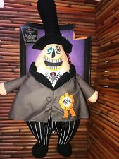 "Nightmare Before Christmas Hanging Decoration 18"" Plush MAYOR"