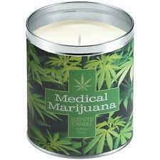 NEW Aunt Sadie's Medical Marijuana Hemp Scented Candle That Smells Like Weed