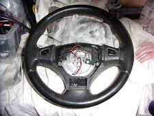Classic Rover Mini MPI Leather Steering Wheel Black