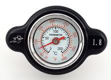 Outlaw Racing OR3126 High Pressure Temperature Gauge Radiator Cap Motorcycle ATV