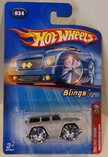 Hot Wheels 2005 First Editions #34 Mercedes-Benz G500 Silver Blings