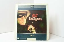 The Legend Of The Lone Ranger CED Disk 1981
