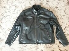 Schott Pelle 141 CAFE RACER Cruiser Giacca 44in sul petto GRANDE PATINA. HARLEY.