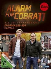 ALARM FÜR COBRA 11 - STAFFEL 41 (FOLGE 329-334)  2 DVD NEW