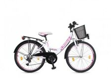24 ZOLL Kinder Fahrrad Kinderfahrrad Cityfahrrad Citybike Mädchenfahrrad Bike