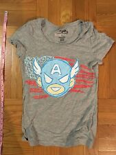 Womens Marvel Tokidoki Captain America Avengers Small cotton gray Cute