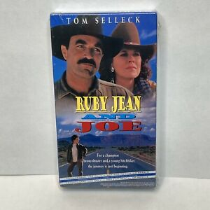 Ruby Jean and Joe / Space Marines VHS Tape, VERY RARE and OOP Tom Selleck